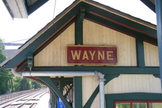 "Wayne Train Station on the ""Main Line"""
